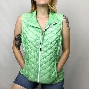 The North Face Green Vest ThermoBall Insulated L